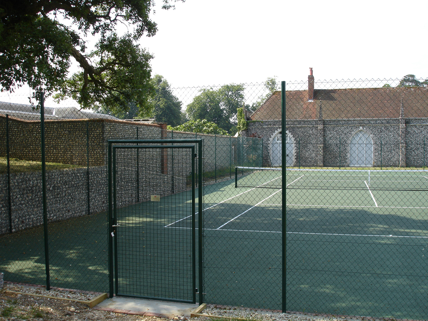 Fencing tennis courts in west sussex east susses and