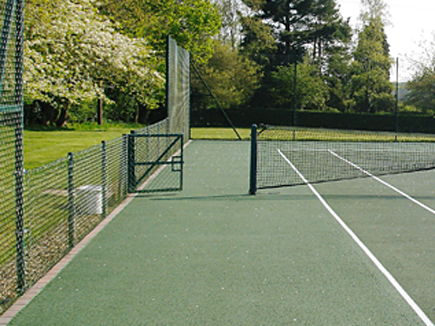 Tennis Court Fencing Detail